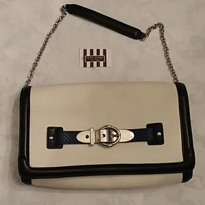 New! Henri Bendel Buckle Up Clutch